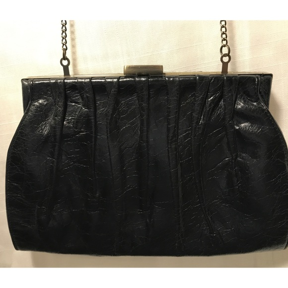 8cbdf176a319 HOBO Handbags - Hobo International Vintage Black Evening Clutch